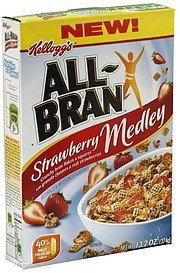 cereal strawberry medley All-bran Nutrition info