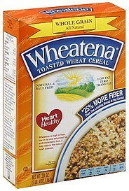 cereal toasted wheat Wheatena Nutrition info