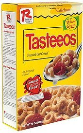 cereal Tasteeos Nutrition info