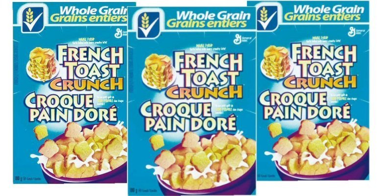 cereal French Toast Crunch Nutrition info