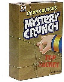 cereal Mystery Crunch Nutrition info