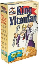 cereal King Vitamin Nutrition info