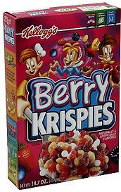 cereal Berry Krispies Nutrition info