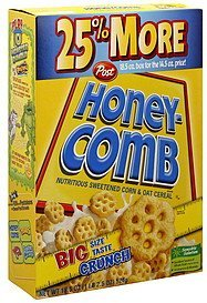 cereal Honey-Comb Nutrition info