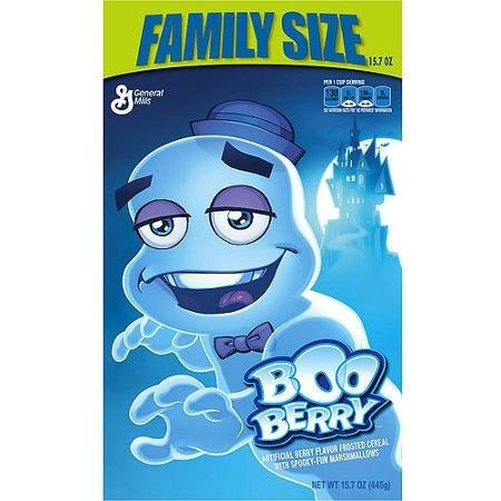 cereal Boo Berry Nutrition info