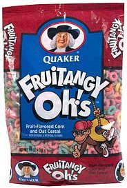 cereal FruiTangy Ohs! Nutrition info