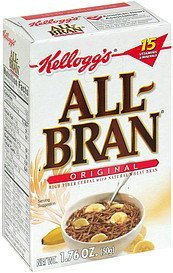 cereal All-bran Nutrition info