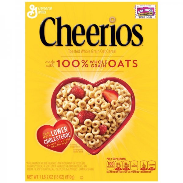cereal Cheerios Nutrition info