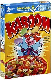 cereal Kaboom Nutrition info