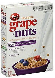 cereal Grape-Nuts Nutrition info