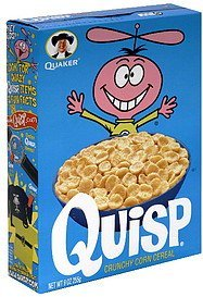 cereal Quisp Nutrition info