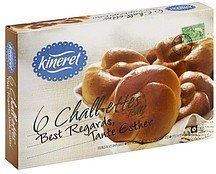 chall-ettes egg twist rolls Kineret Nutrition info
