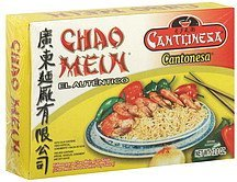 chao mein noodles with soy sauce Cantonesa Nutrition info