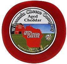 cheddar aged Wisconsin Cheese Company Nutrition info