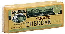 cheddar cheese smoked Pineland Farms Nutrition info