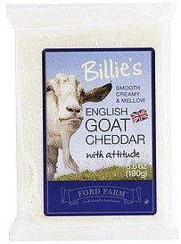 cheddar english goat Billies Nutrition info