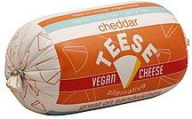 cheese alternative vegan, cheddar Teese Nutrition info