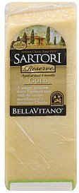 cheese bellavitano, gold Sartori Nutrition info