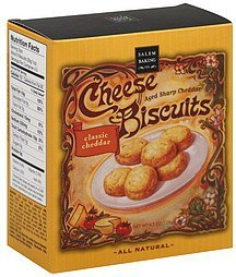 cheese biscuits aged sharp cheddar Salem Baking Co. Nutrition info