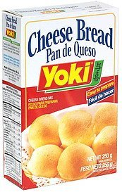 cheese bread Yoki Nutrition info