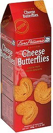 cheese butterflies Euro Patisserie Nutrition info