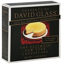 cheese cake the ultimate new york Desserts by David Glass Nutrition info