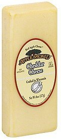 cheese cheddar, apple smoked Red Apple Cheese Nutrition info