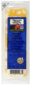 cheese colby jack Wisconsin Cheese Company Nutrition info