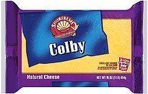 cheese colby Shurfresh Nutrition info