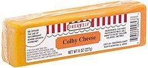 cheese colby Oberweis Nutrition info