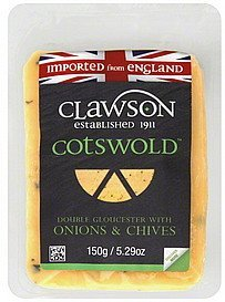 cheese cotswold Clawson Nutrition info