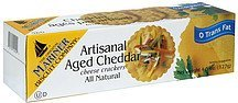 cheese crackers artisanal aged cheddar The Original Mariner Biscuit Company Nutrition info