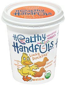 cheese crackers lucky duckies Healthy Handfuls Nutrition info