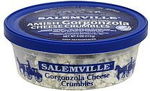 cheese crumbles amish gorgonzola Salemville Nutrition info