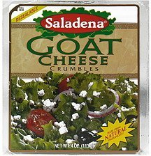 cheese crumbles goat Saladena Nutrition info
