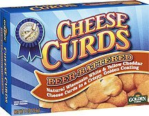 cheese curds beer-battered Golden Farms Nutrition info
