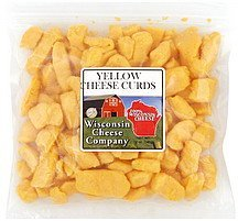cheese curds yellow Wisconsin Cheese Company Nutrition info