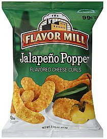 cheese curls jalapeno popper The Flavor Mill Nutrition info