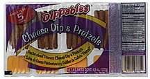 cheese dip & pretzels Dippables Nutrition info