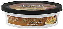 cheese dip queso, with habanero, hot Queso De Sonoma Nutrition info