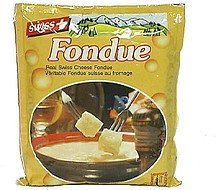 cheese fondue real Swiss Nutrition info
