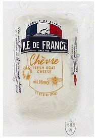 cheese fresh goat, with honey Ile De France Nutrition info