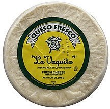 cheese fresh La Vaquita Nutrition info