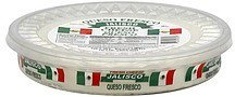 cheese fresh Jalisco Nutrition info