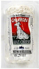 cheese goat, 4 peppers Chevrion Nutrition info