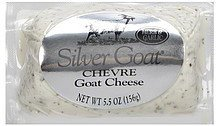 cheese goat, herb & garlic Silver Goat Nutrition info