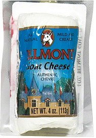 cheese goat Belmont Nutrition info