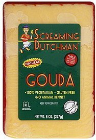 cheese gouda Screaming Dutchman Nutrition info