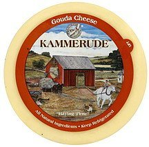 cheese gouda Kammerude Nutrition info