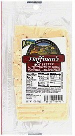 cheese hot pepper Hoffmans Nutrition info